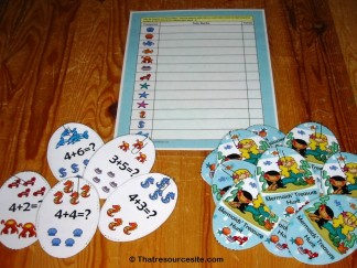 Mermaid's Treasure Hunt No.3 Math Game
