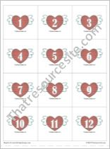 Multiples of Love Math Counters