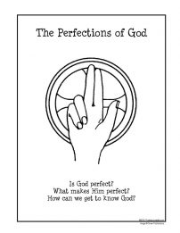 F3 Folder Lesson on the Perfections of God