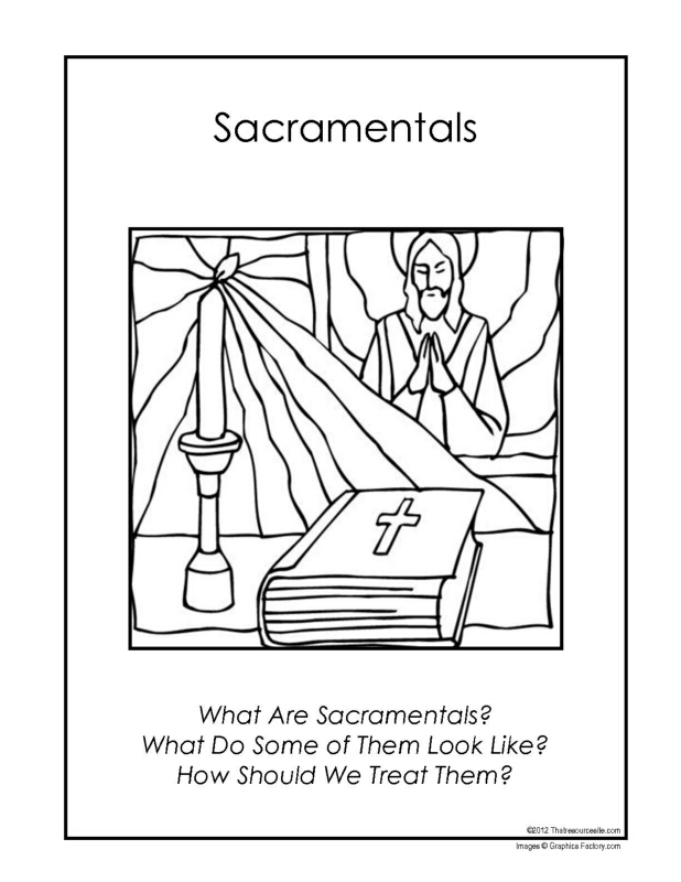 F3 Folder Lesson on Sacramentals