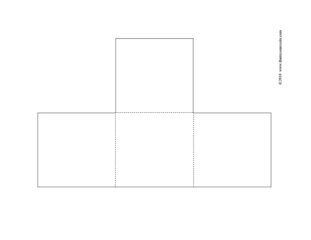 Three Flap T Book Blank F3 Piece