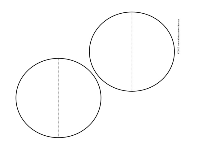 template two half circle f3 pieces that resource site