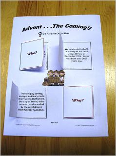 Advent F3 Activity