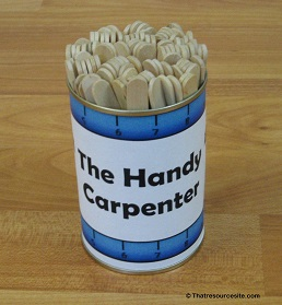 Handy Carpenter Math Game