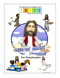 Preschool Life of Christ Timeline