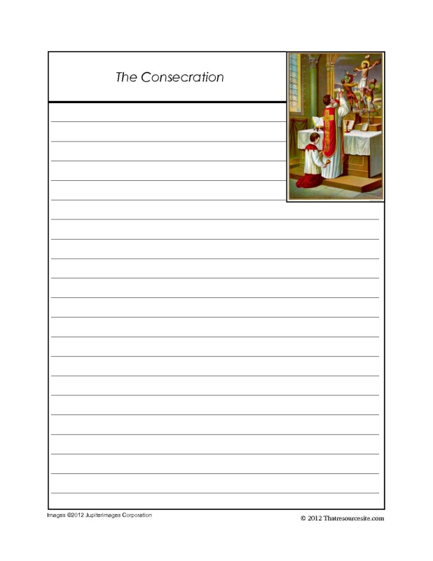 The Consecration Notebooking Set