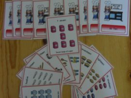 Welcome to My Kitchen No.1-20 Learning Card Set