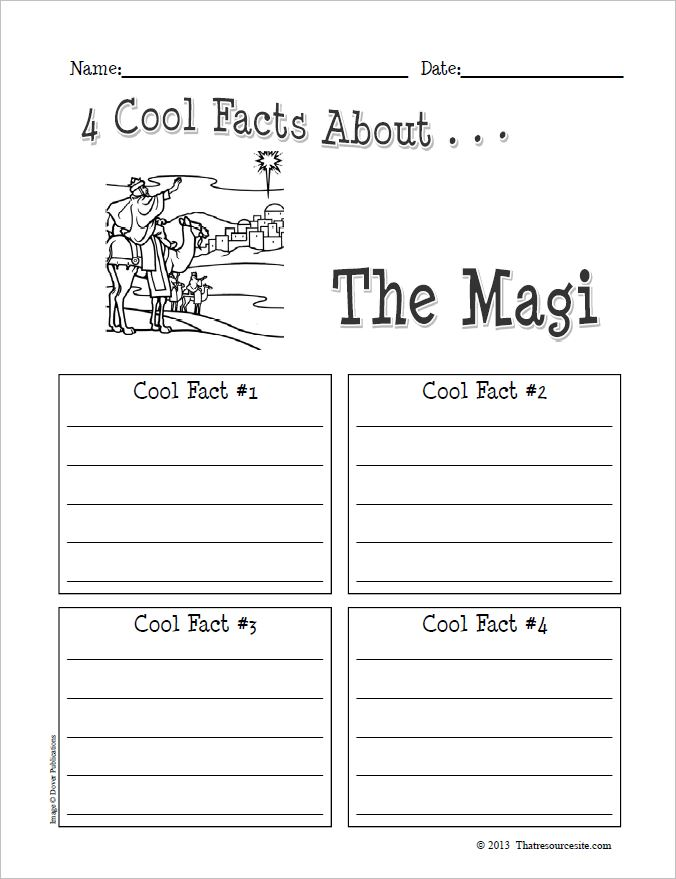 4 Cool Facts About the Magi Organizer Worksheet