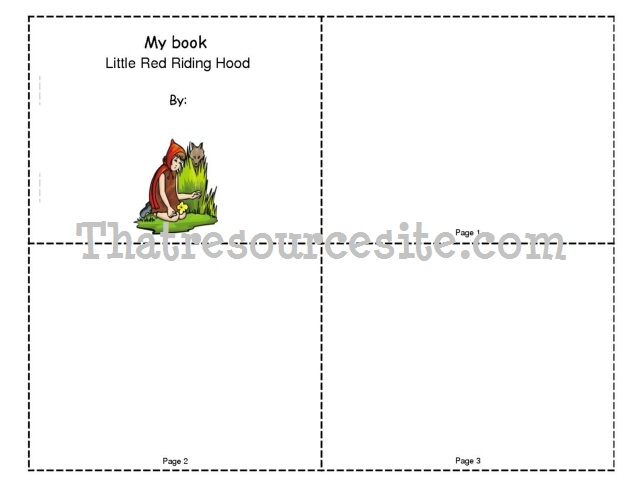 Little Red Riding Hood Mini-Book