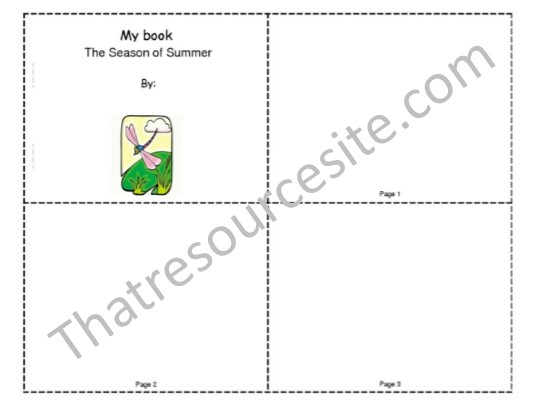 Season of Summer Mini-Book
