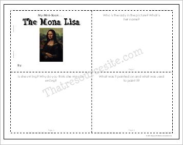 Mona Lisa Mini-Book Set