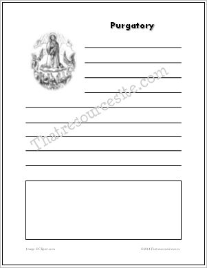 Purgatory Notebooking Sheet Set