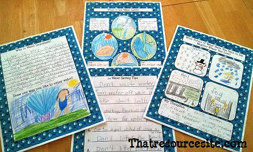 Water Cycle Notebooking Set