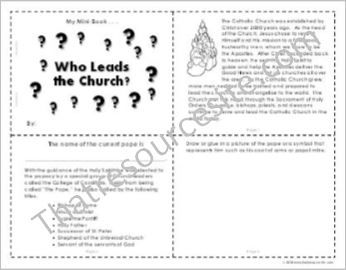 Who Leads the Church? Mini-Book