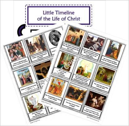 Little Timeline of the Life of Christ