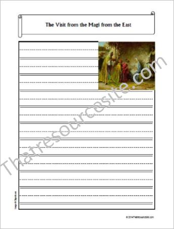 Life of Christ – The Visit from the Magi from the East Notebooking Set