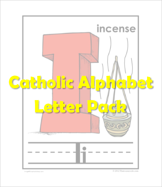Catholic Alphabet Pack Letter I