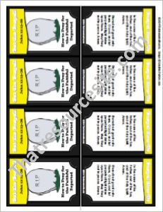 Get the Gospel!  Trading Card on How to Pray for the Faithful Departed
