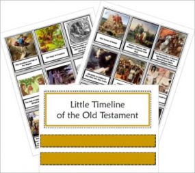 Little Timeline of the Old Testament
