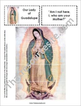Our Lady of Guadalupe Picture Puzzle