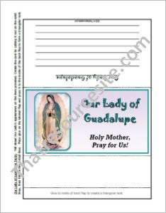 Our Lady of Guadalupe Tenty