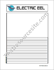 Electric Eel Notebooking Set