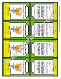 Get the Gospel! Trading Card on How to Celebrate the Holy Cross