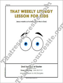 Weekly Liturgy Lesson – 2nd Sunday in Easter (Cycle B)