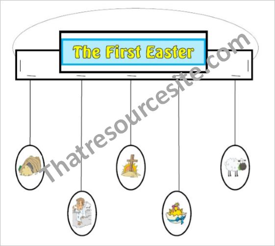 Mobile and Lesson on the First Easter