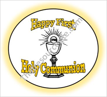 First Holy Communion Celebration Party Set