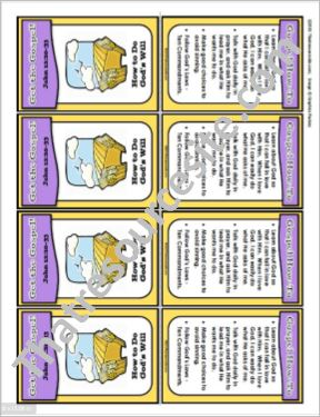 Get the Gospel! Trading Card on How to Do God's Will