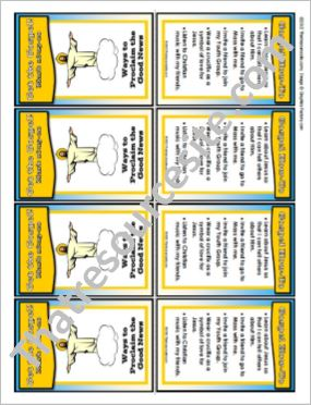 Get the Gospel! Trading Card on Ways to Proclaim the Good News