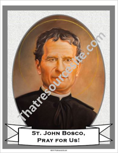 Poster of St. John Bosco