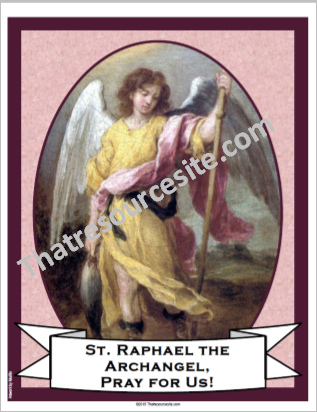 St. Raphael the Archangel Poster