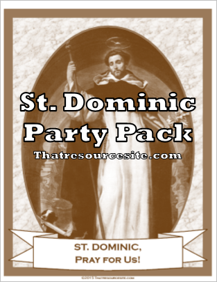 St. Dominic Saint Party Pack
