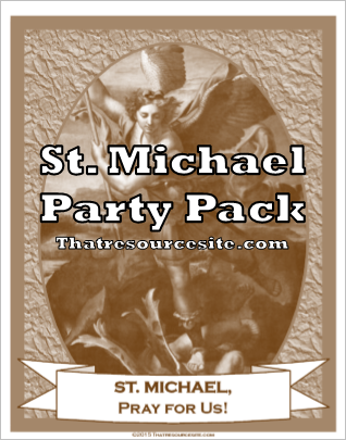 St. Michael Saint Party Pack