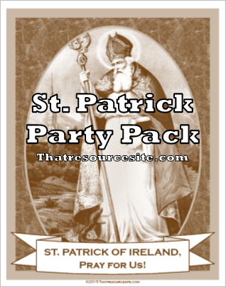 St. Patrick Saint Party Pack