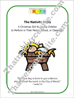The Nativity Story – A Christmas Skit for Young Children