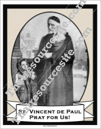 Poster of St. Vincent de Paul