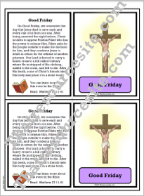 Good Friday Learning Card