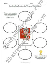How Can You Practice Faithfulness Graphic Organizer