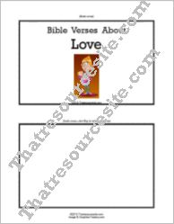F3 Tab Booklet – Bible Verses About Love