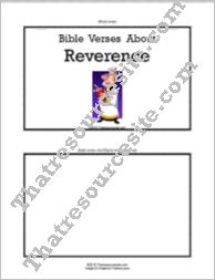 F3 Tab Booklet – Bible Verses About Reverence