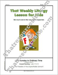That Weekly Liturgy Lesson – 27th Sunday in Ordinary Time (Cycle C)