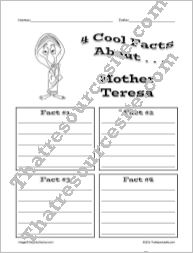 4 Cool Facts About Mother Teresa BW Version