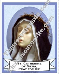 Poster of St. Catherine of Siena