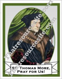 Poster of St. Thomas More
