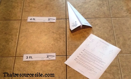 St Joseph fo Cupertino Paper Airplane Game