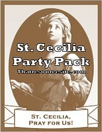 St. Cecilia Saint Party Pack