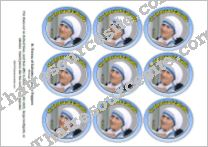 St. Teresa of Calcutta Cupcake Topper